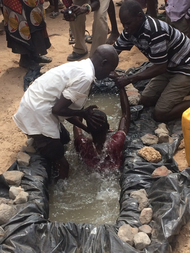 Baptism in Turkana