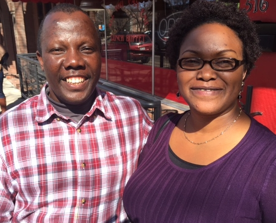 Wallace and Mary Kamau of Missions of Hope International in Kenya