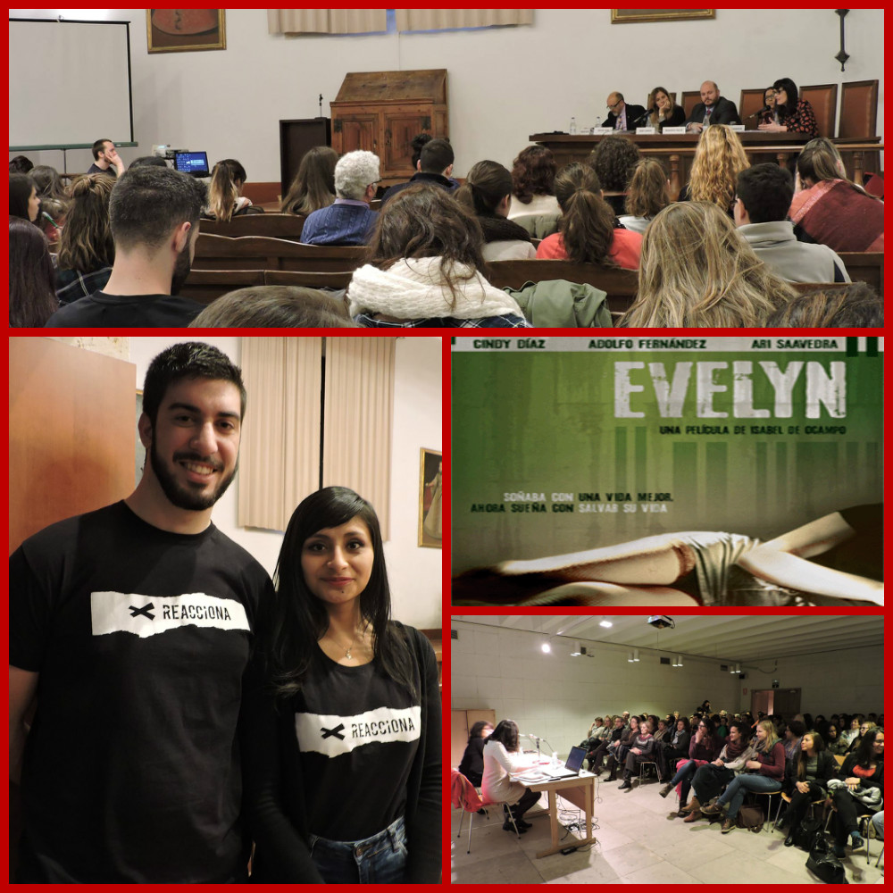 Human trafficking, En Vivo, Globalscope, Salamanca spain, CMF International campus ministry