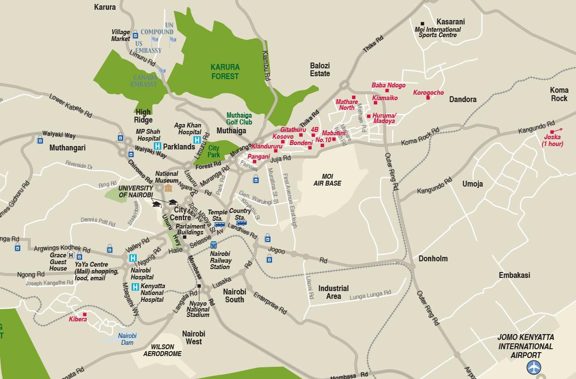 map-nairobi