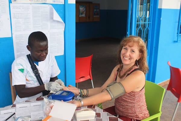 Maternity clinic, labor and delivery, Ivory Coast, CMF International