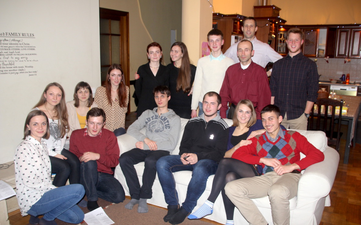 Ukraine, student ministry, CMF International