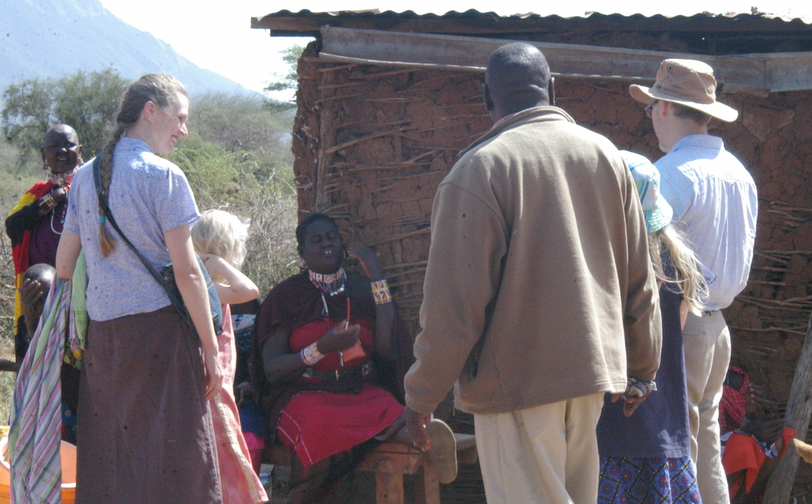 Barrons, Maasai, church planter, Kenya, missions, CMF International