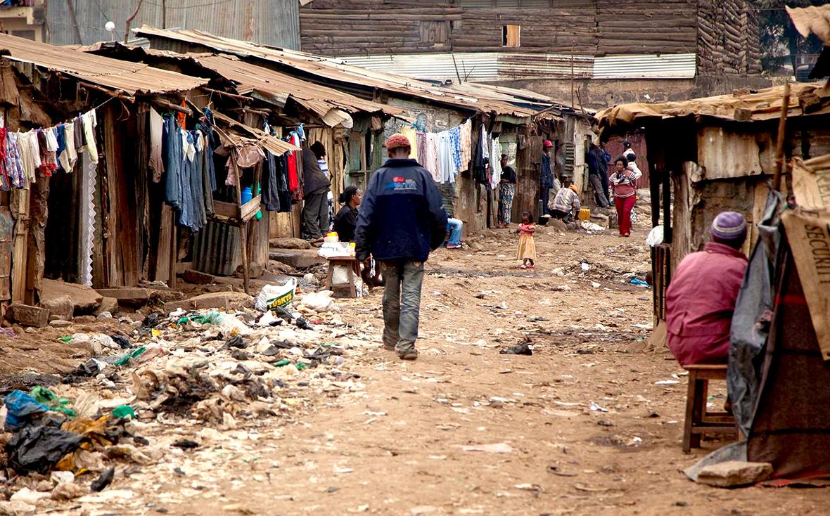 REACH intern: 'Visit the slum with me!'