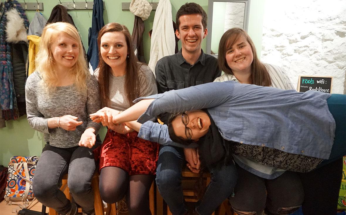 Edinburgh, Scotland, campus ministry, Globalscope, Roots