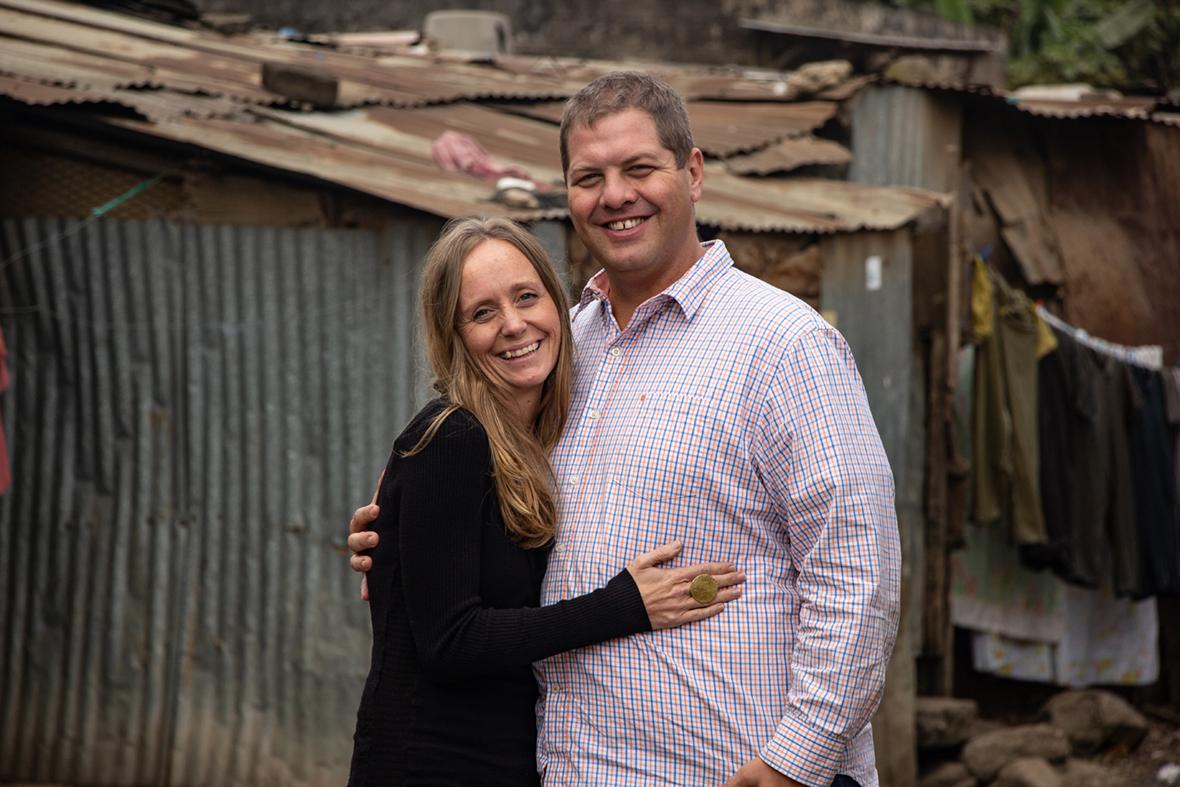 Tim, Alicia, Stewart, MOHI, sponsorship, Nairobi, Kenya