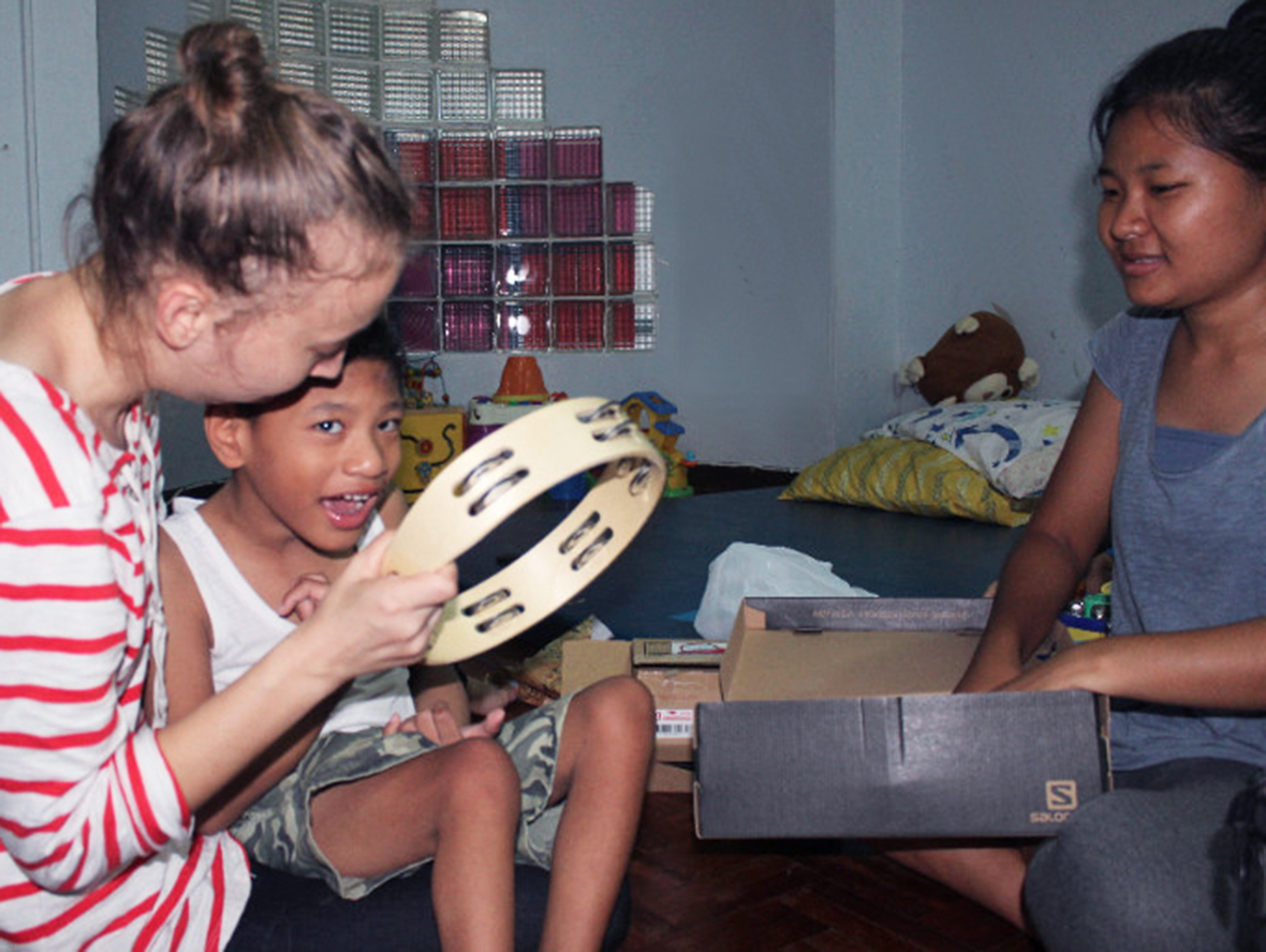 Becca, Schafer, Chiang Mai, Thailand, Hope Home, disability ministry