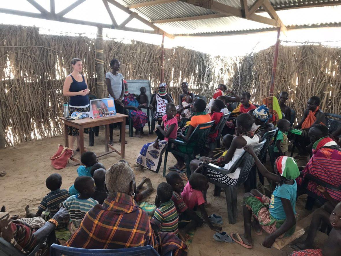 Wiliams, Rachel, Pitts, Caitlin, Turkana, Kenya, Days for Girls, women