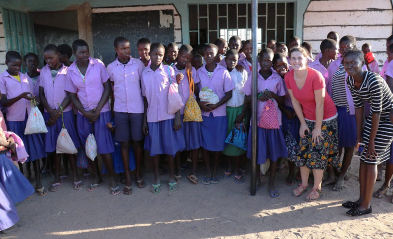 Wiliams, Rachel, Pitts, Caitlin, Turkana, Kenya, Days for Girls, women
