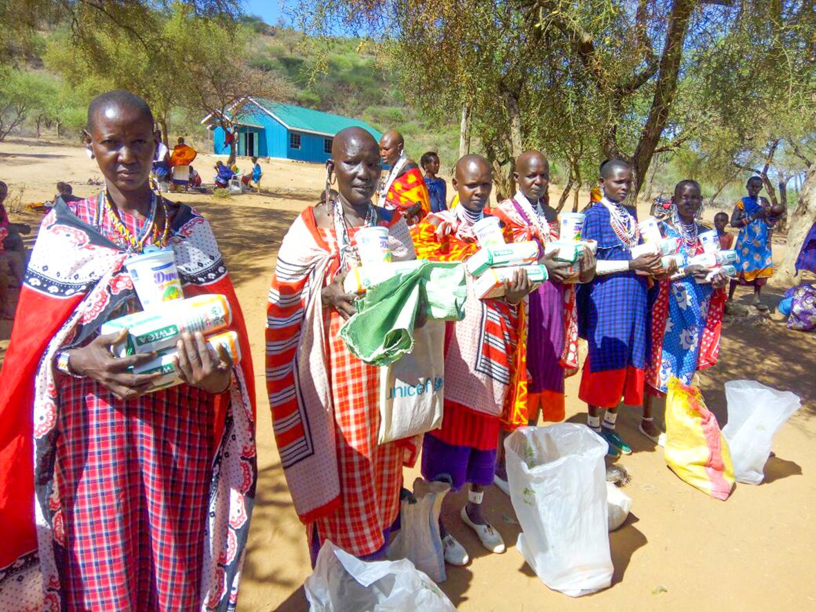 Kenya, drought, Dori Cazier, IDES