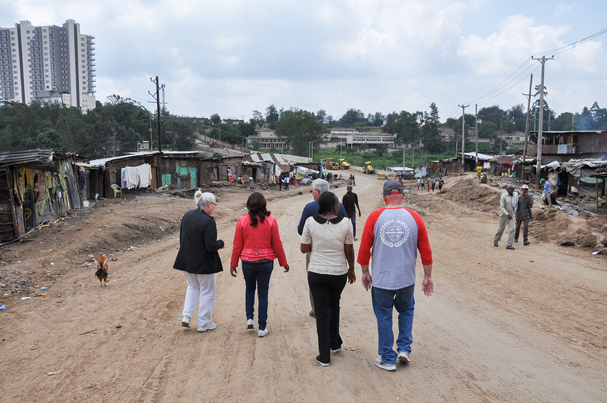 Kariobangi community begs MOHI for school and church, and God answers!