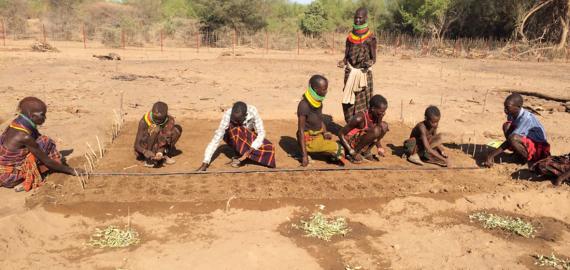 Morden, Gene, Melba, Farming God's Way, Turkana, Kenya, irrigation, water projects