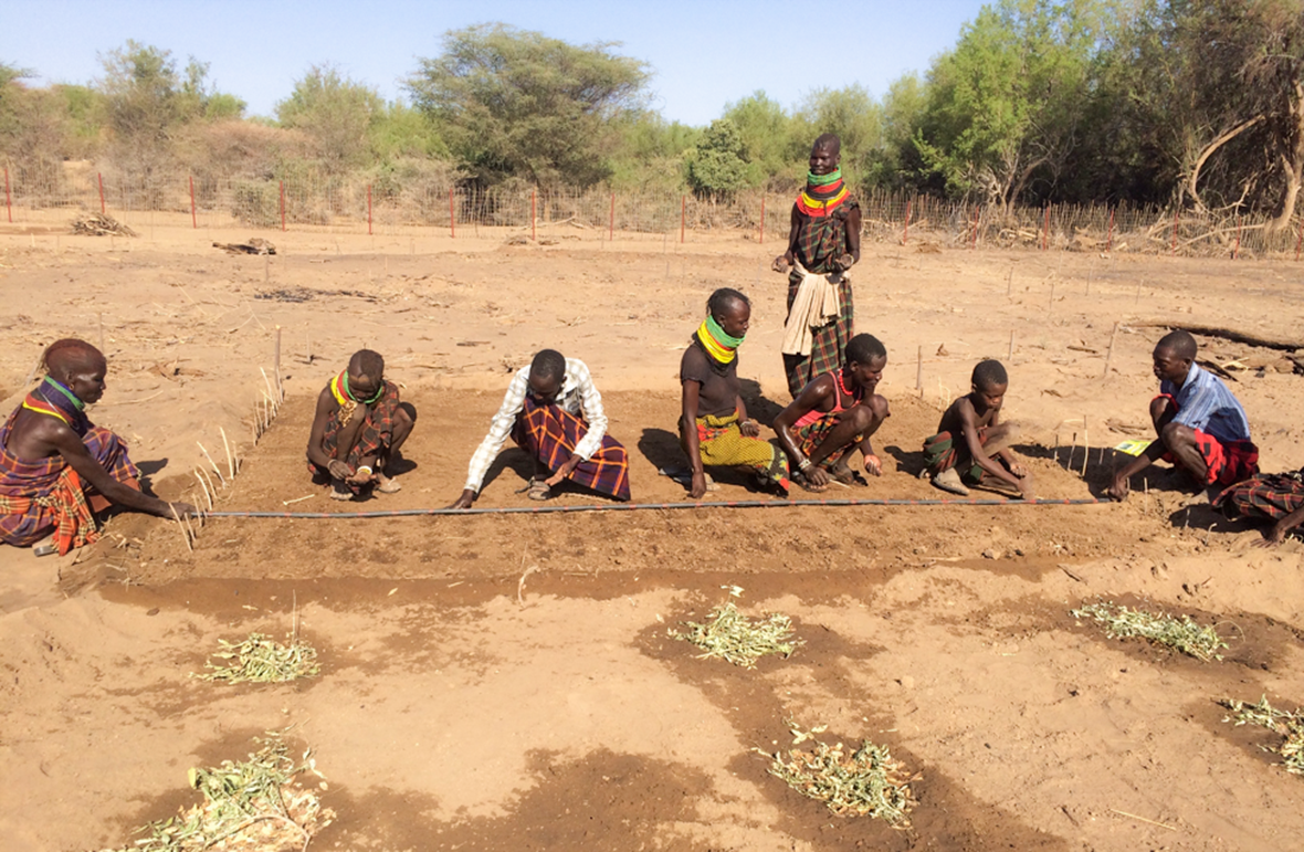 Morden, Gene, Melba, Farming God's Way, Turkana, Kenya, irrigation, water projects