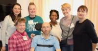 Kiev, Ukraine, June, Johnson, disability ministry