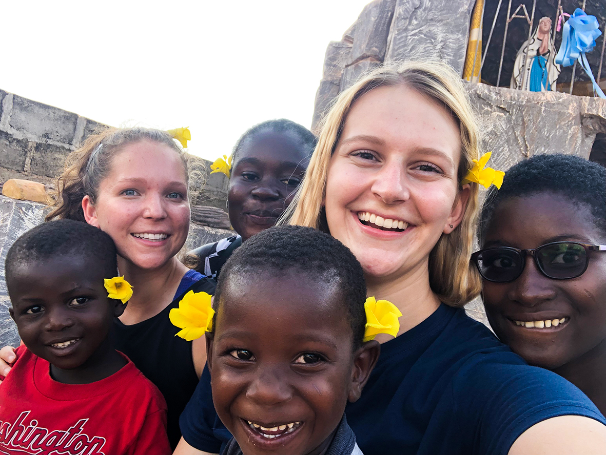 Claire, Richardson, Ivory Coast, REACH, intern