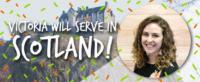 Victoria Bolduc, Roots, Edinburgh, Scotland, Globalscope, campus ministry
