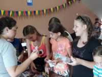 Leah, Scharfenberg, Berdyansk, Ukraine, English camp