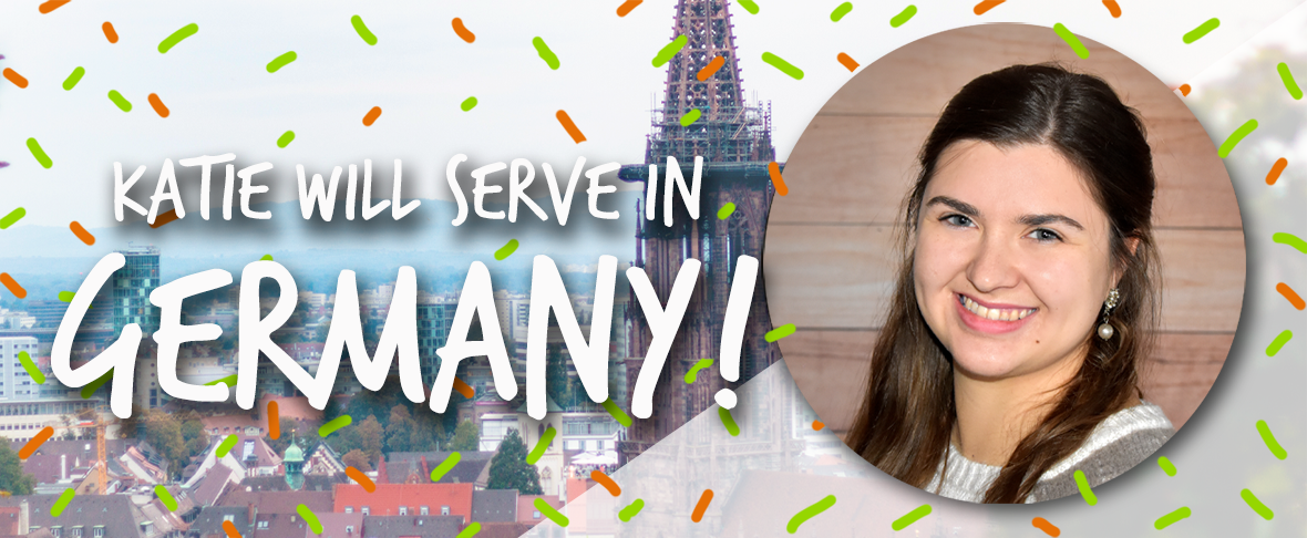 Katie McCall, Globalscope, campus ministry, Freiburg, Germany