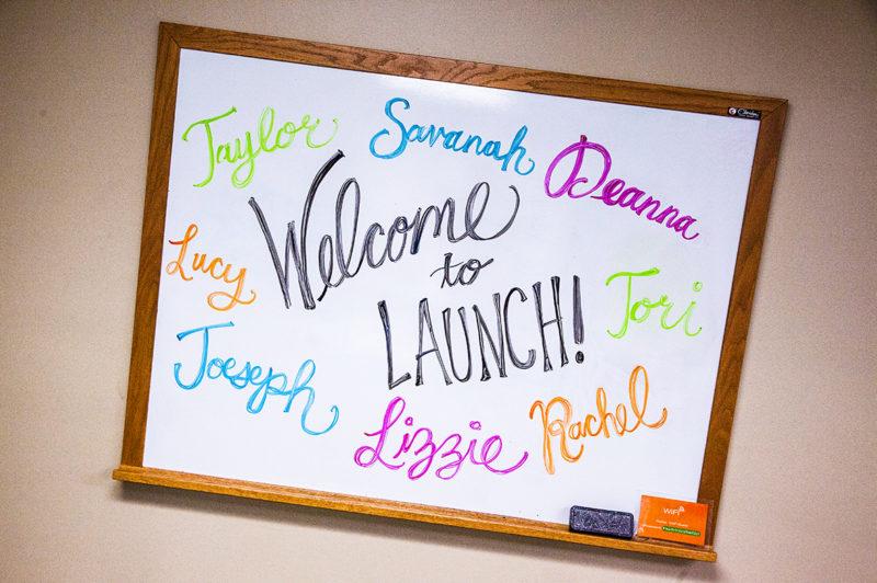 Joseph Lizzie Hoffman, Tori Anderson, Rachel Batter, Taylor Roush, Lucy Pizarro, Deanna Rebello, Savanah Yancey, recruits, Launch