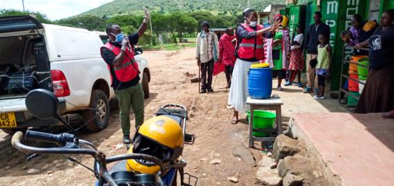CHP, Community Health Partners, Maasai, Narok County, Turkana, Kenya, medical ministry, COVID-19