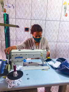 EWAR, Ethiopia, Ted Bertleson, at-risk women, coronavirus, pandemic, masks