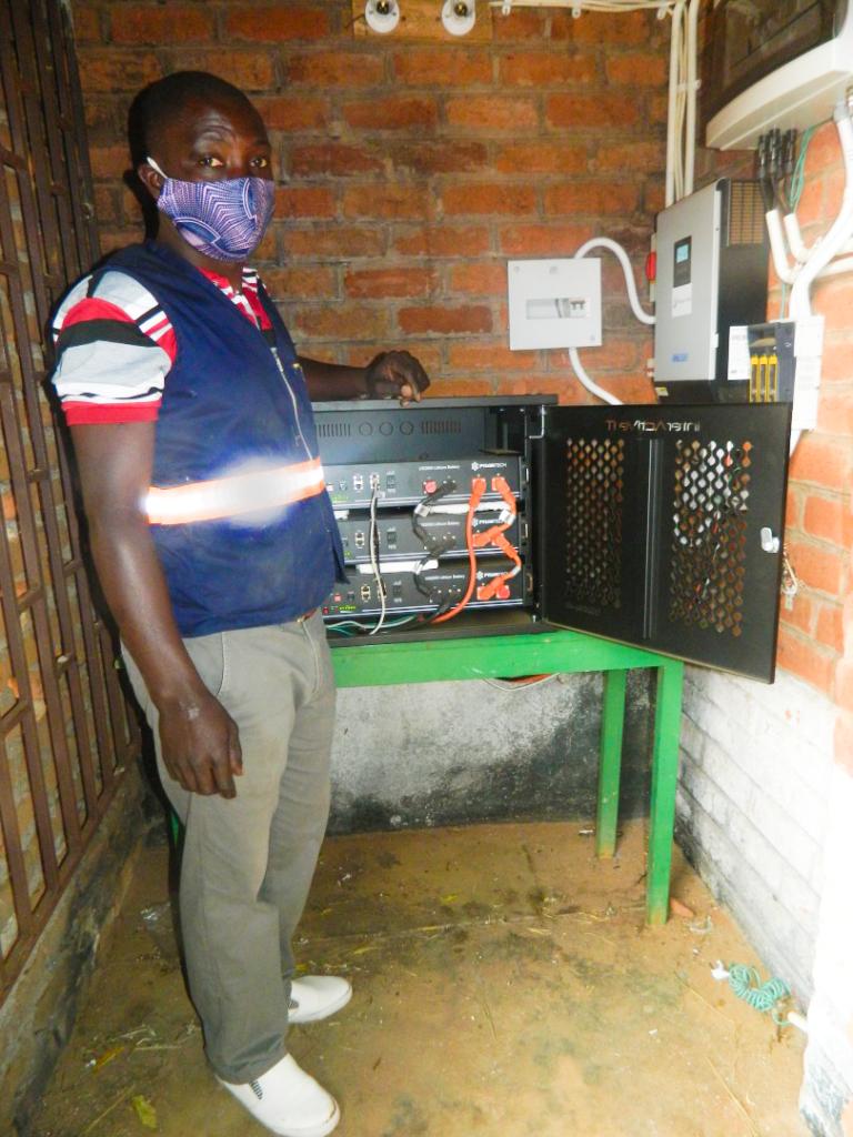 Namikango Mission, Ryan Hayes, Malawi, EKI Foundation, solar inverter