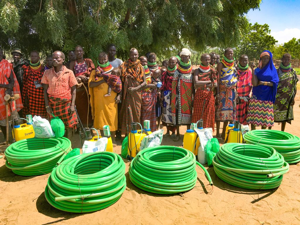 IDES, Turkana, Kenya, farming, locusts, Eric Lorupoe