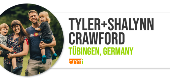 Tyler Crawford, Shalynn Crawford, Unterwegs, Globalscope, Church Catalyst, Tübingen, Germany
