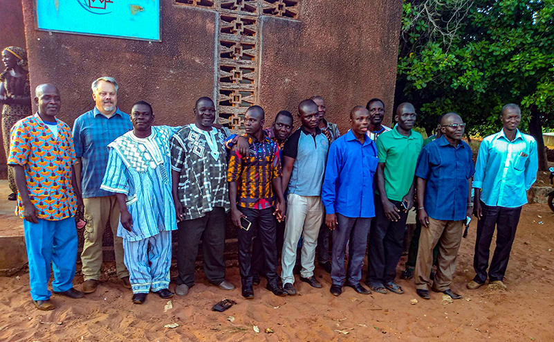 Brian Hauser, Ken Hoch, West Africa, Ivory Coast, mentoring, Muslims, Farming God's Way, CHE, Bible storying