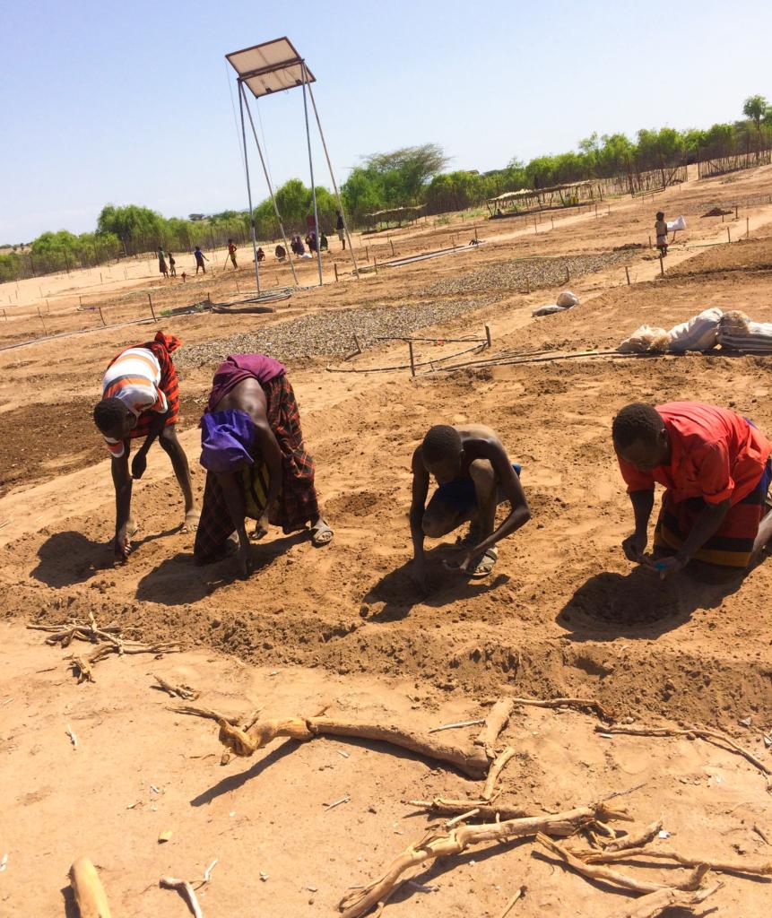 IDES, Turkana, Kenya, water projects, irrigated farms, wells