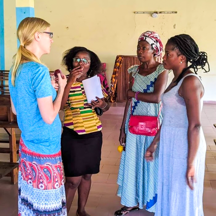 Kristin Isely, Ivory Coast, Women Together, women's ministries, HIV-AIDS, pregnancy, female circumcision