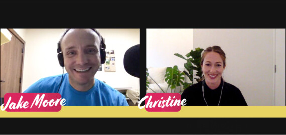 Jake Moore, Christine Barber, podcast, Globalscope, exchange intern