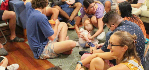 Carly Kies, The Garden, Globalscope, Brisbane, Australia, campus ministry, COVID-19