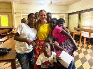 Rylie Farr, Reach, internship, Ivory Coast, Isely