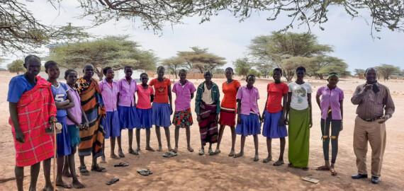 Rachel Williams, Cait Pitts, Days for Girls, Turkana, Kenya