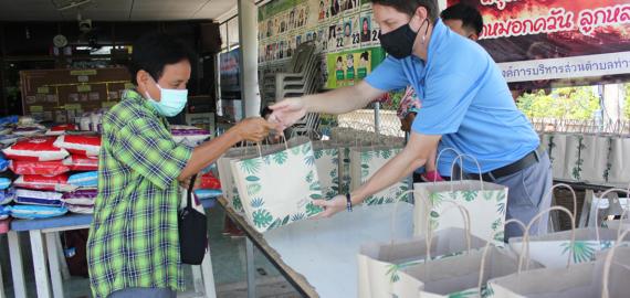 Preston Coursey, Kristin Coursey, Chiang Mai, Thailand, Covid, pandemic